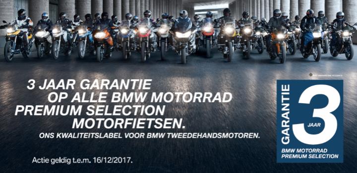 BMW Motorrad Premium Selection 3 jaar