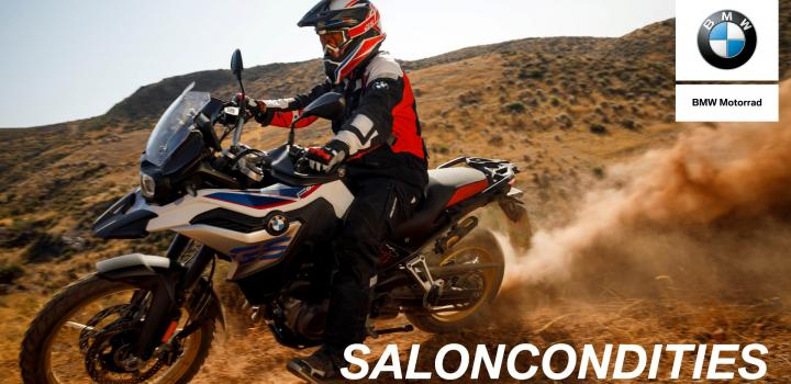 Saloncondities BMW Motorrad