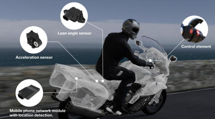 BMW Motorrad Emergency Call