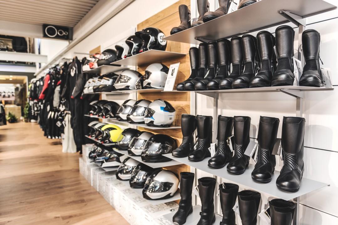 BMW Motorrad Rider Equipment Shop