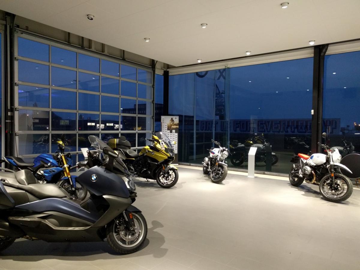 BMW Motorrad Shop in Shop