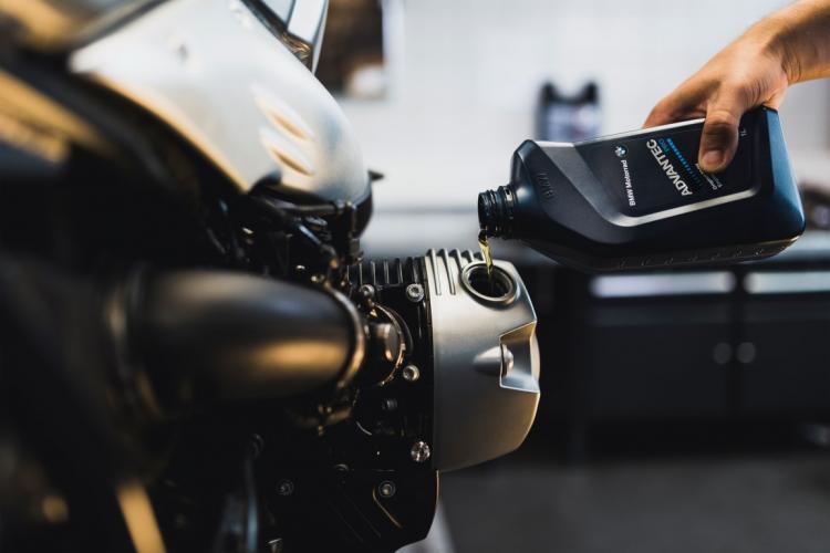 BMW Motorrad winter onderhoud