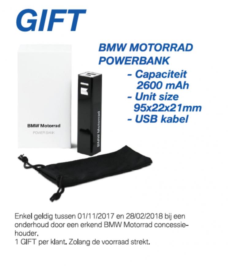 Gift Winteractie BMW Motorrad
